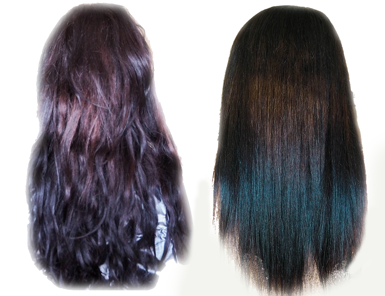 Brunette Coloured Damaged Hair Japanese Hair Treatment
